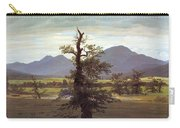 Landscape With Solitary Tree Carry-all Pouch