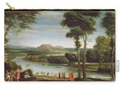 Landscape With St. John Baptising Carry-all Pouch