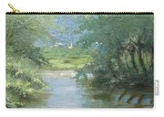 Landscape With Swans Carry-all Pouch