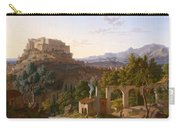 Landscape With The Castle Of Massa Di Carrara Carry-all Pouch