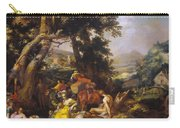 Landscape With The Ministry Of John The Baptist Carry-all Pouch