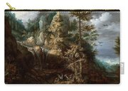 Landscape With The Temptation Of Saint Anthony Carry-all Pouch