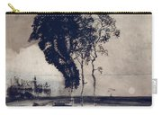 Landscape With Three Trees Carry-all Pouch by Victor Hugo