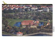 Landskrona Citadel Photographed From The Air Carry-all Pouch