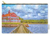 Landskrona Sea Shore Painting Carry-all Pouch