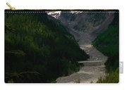 Landslides At Mount Rainier Carry-all Pouch