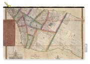 Langdon Pocket Map Of New York City Carry-all Pouch