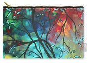Languishing In The Breeze Original Art Madart Carry-all Pouch