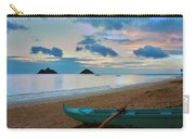 Lanikai Beach Sunrise 6 - Kailua Oahu Hawaii Carry-all Pouch