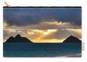Lanikai Beach Sunrise Panorama 2 - Kailua Oahu Hawaii Carry-all Pouch