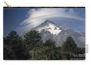 Lanin Volcano And Araucaria Trees Carry-all Pouch