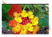 Lantana Flowers 2 Carry-all Pouch