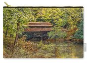 Lanterman Falls Covered Bridge Carry-all Pouch