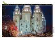 Lantern Bush Slc Temple Carry-all Pouch