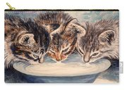 Lap Of Luxury Kittens Carry-all Pouch