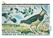 Lapwings Study Of Migration Museum Of Paris Carry-all Pouch