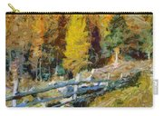Larches In Autumn Carry-all Pouch