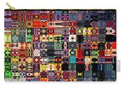 Larg Blocks Digital - Various Colors I Carry-all Pouch