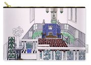 Large Balconied Reception Room Carry-all Pouch
