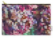 Large Blocks Digital Abstract - Purples Carry-all Pouch