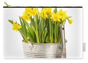 Large Bucket Of Daffodils Carry-all Pouch by Amanda Elwell