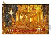 Large Buddha Image In Wat Tha Sung Temple In Uthaithani-thailand Carry-all Pouch