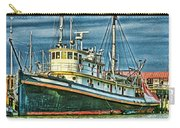 Large Fishing Boat Hdr Carry-all Pouch