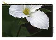 Large Flowered Trillium Carry-all Pouch