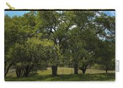 Large Green Oak Trees Carry-all Pouch
