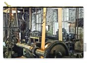 Large Lathe In Machine Shop Carry-all Pouch