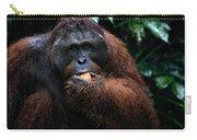 Large Male Orangutan Borneo Carry-all Pouch