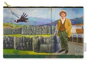 Large Mural In Cusco Peru Part 11 Carry-all Pouch