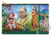 Large Mural In Cusco Peru Part 4 Carry-all Pouch