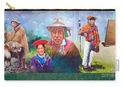 Large Mural In Cusco Peru Part 6 Carry-all Pouch