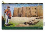 Large Mural In Cusco Peru Part 7 Carry-all Pouch