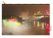 Large Niagara Nighttime Panorama Carry-all Pouch