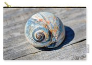 Large Snail Shell Carry-all Pouch