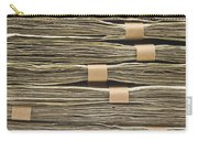 Large Stack Of American Cash Money Carry-all Pouch