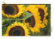 Large Sunflowers Carry-all Pouch