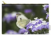 Large White Pieris Brassicae  Carry-all Pouch