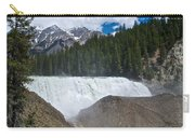 Larger View Of Wapta Falls In Yoho Np-bc Carry-all Pouch