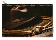 Lariat And Hat Carry-all Pouch