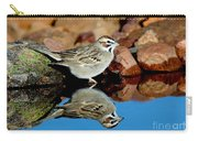 Lark Sparrow Chondestes Grammacus Carry-all Pouch