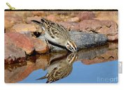 Lark Sparrow Drinking Carry-all Pouch
