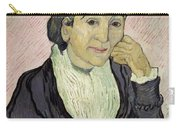 L'arlesienne Madame Ginoux Carry-all Pouch by Vincent van Gogh
