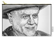 Larry Hagman In 2011 Carry-all Pouch