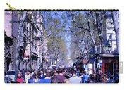 Las Ramblas - Barcelona Spain Carry-all Pouch