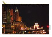 Las Vegas At Midnight Carry-all Pouch
