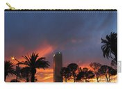 Las Vegas Sunset And Trump Tower Carry-all Pouch