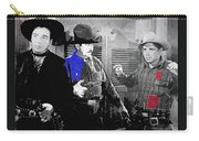 Lash Larue And Charles King Law Of The Lash Publicity Photo 1947 Carry-all Pouch
